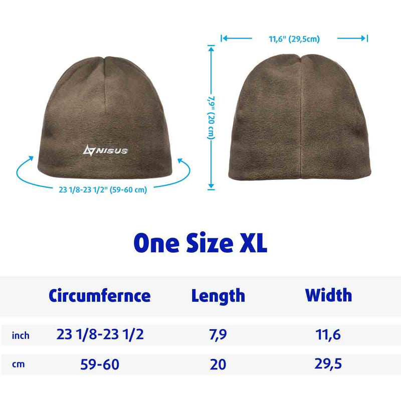 Armada Insulated Microfleece Watch Cap Hat Winter Warm 2 Layered