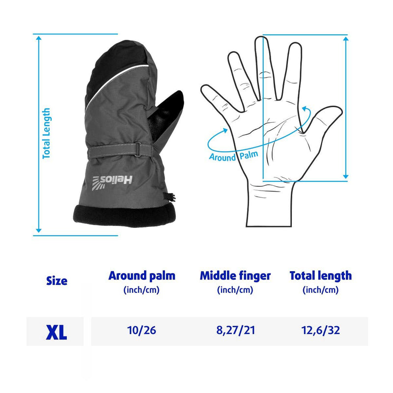 Nord Winter Thermal Mittens for Cold Weather and Ice Fishing