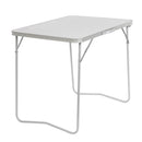 Compact Folding Steel Camping Outdoor Table for Picnic
