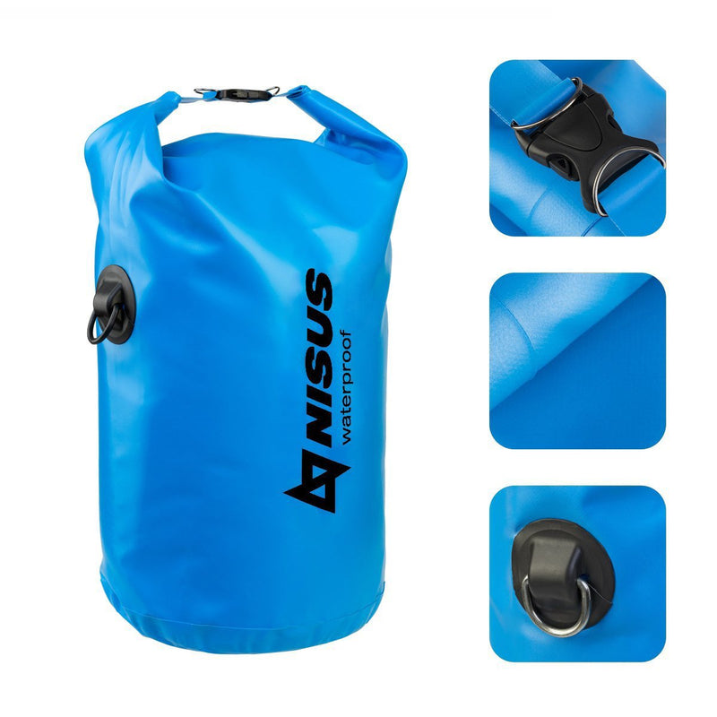 15 L Small Lightweight Waterproof Fishing Boating Dry Bag