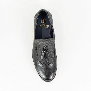 Cavani Mens Lucius Black Loafer - Loafers