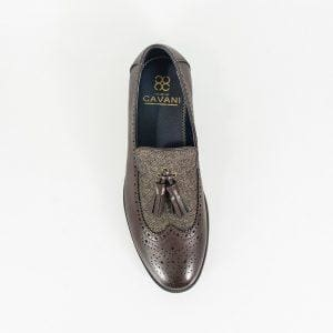 Cavani Mens Lucius Brown Loafer - Loafers