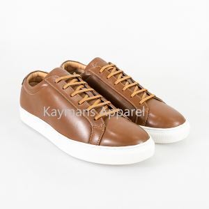 Cavani Pursuit Tan Trainers - UK7 | EU41 - Shoes