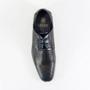 Cavani Rex Navy Formal Shoe - Shoes