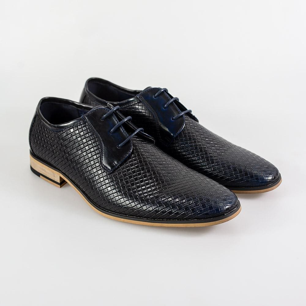 Cavani Rex Navy Formal Shoe - UK7 | EU41 - Shoes
