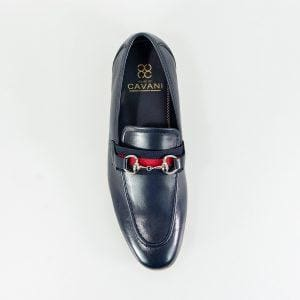 Cavani Yale Mens Navy Loafer - Shoes