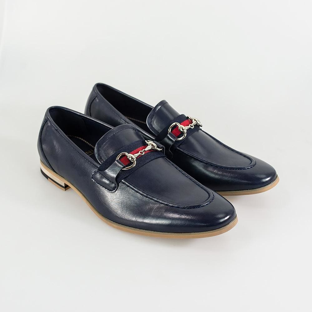 Cavani Yale Mens Navy Loafer - UK7 | EU41 - Shoes