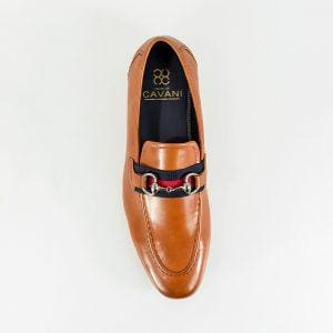 Cavani Yale Mens Tan Loafer - Shoes