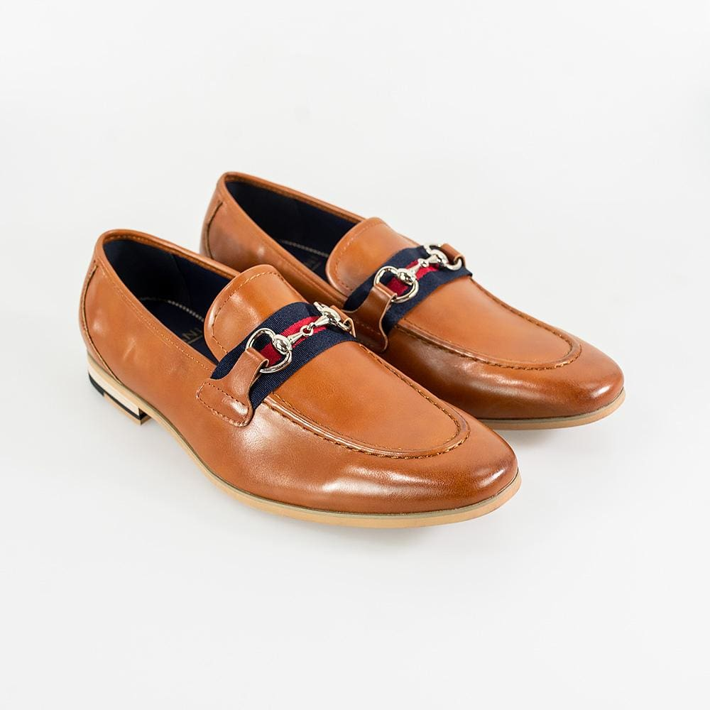 Cavani Yale Mens Tan Loafer - UK7 | EU41 - Shoes