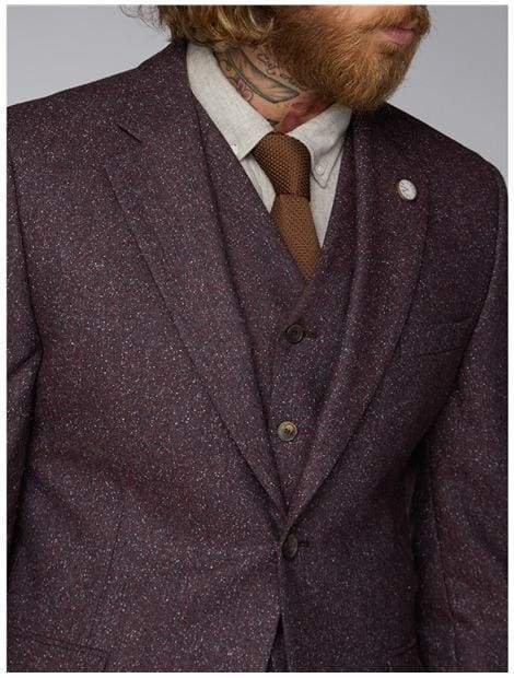Gibson Berry Speckle Jacket - Suit & Tailoring