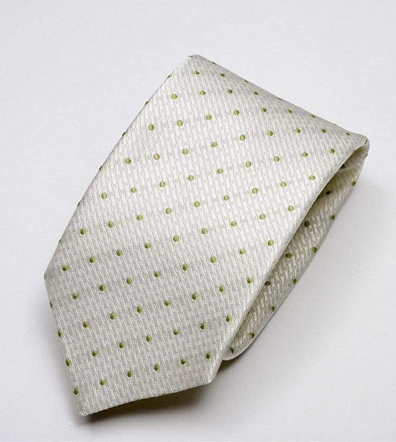 Heirloom Durant Mens Mint Dotted Tie - Accessories