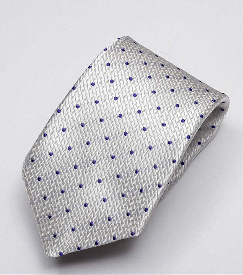 Heirloom Durant Mens Violet Dotted Tie - Accessories
