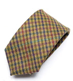Heirloom Multicolour Mens Checked Tie - Accessories