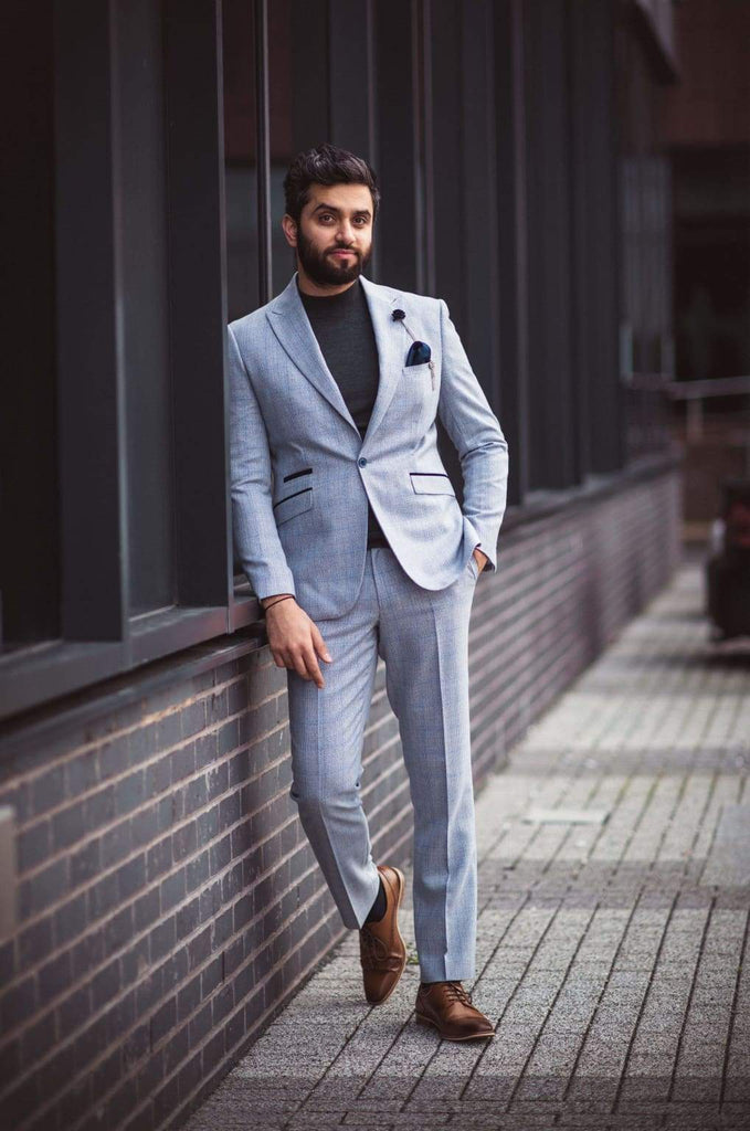 Men's Sky 2 Piece Cavani Caridi Wedding Suit - Suit & Tailoring