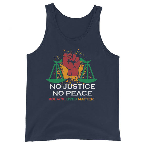"""No Justice, No Peace"" Tank Top"