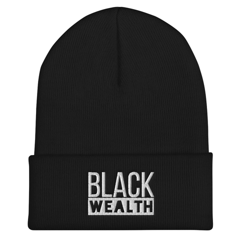 """Black Wealth"" Beanie"