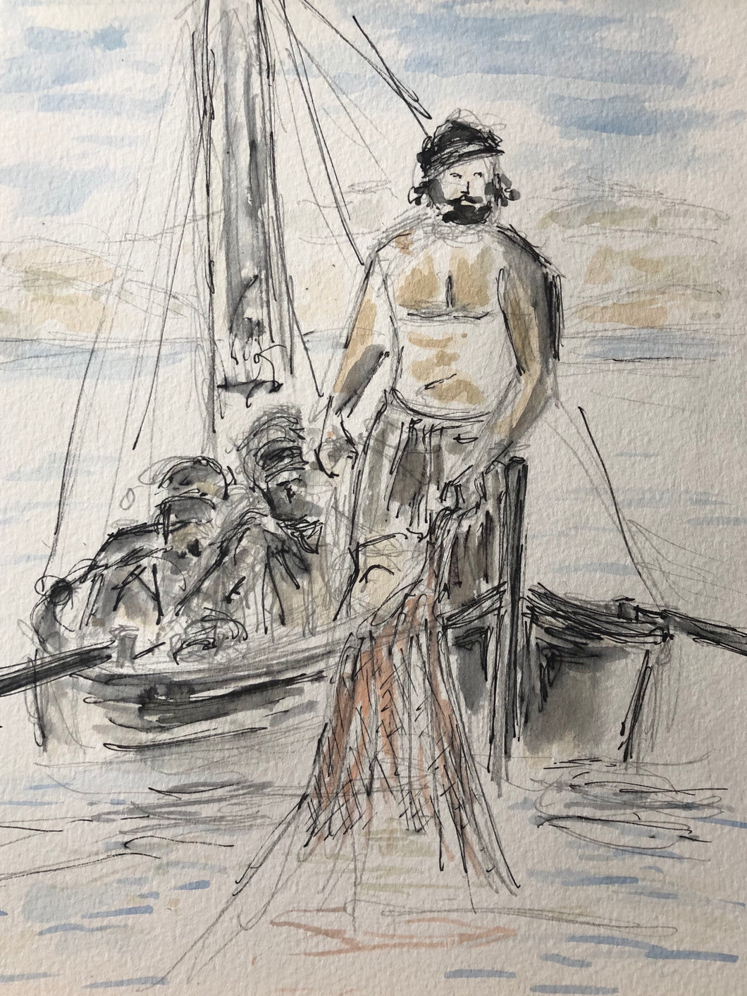 Fishermen with Peter