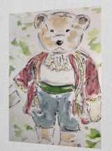 Load image into Gallery viewer, Greeting Card Teddy Bear Horatio
