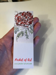 Bookmark Roses in a Jug