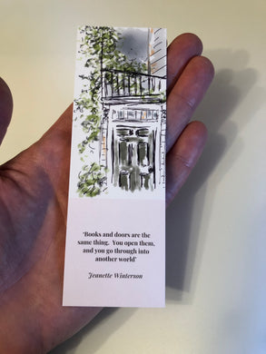 Bookmark - Books and Doors
