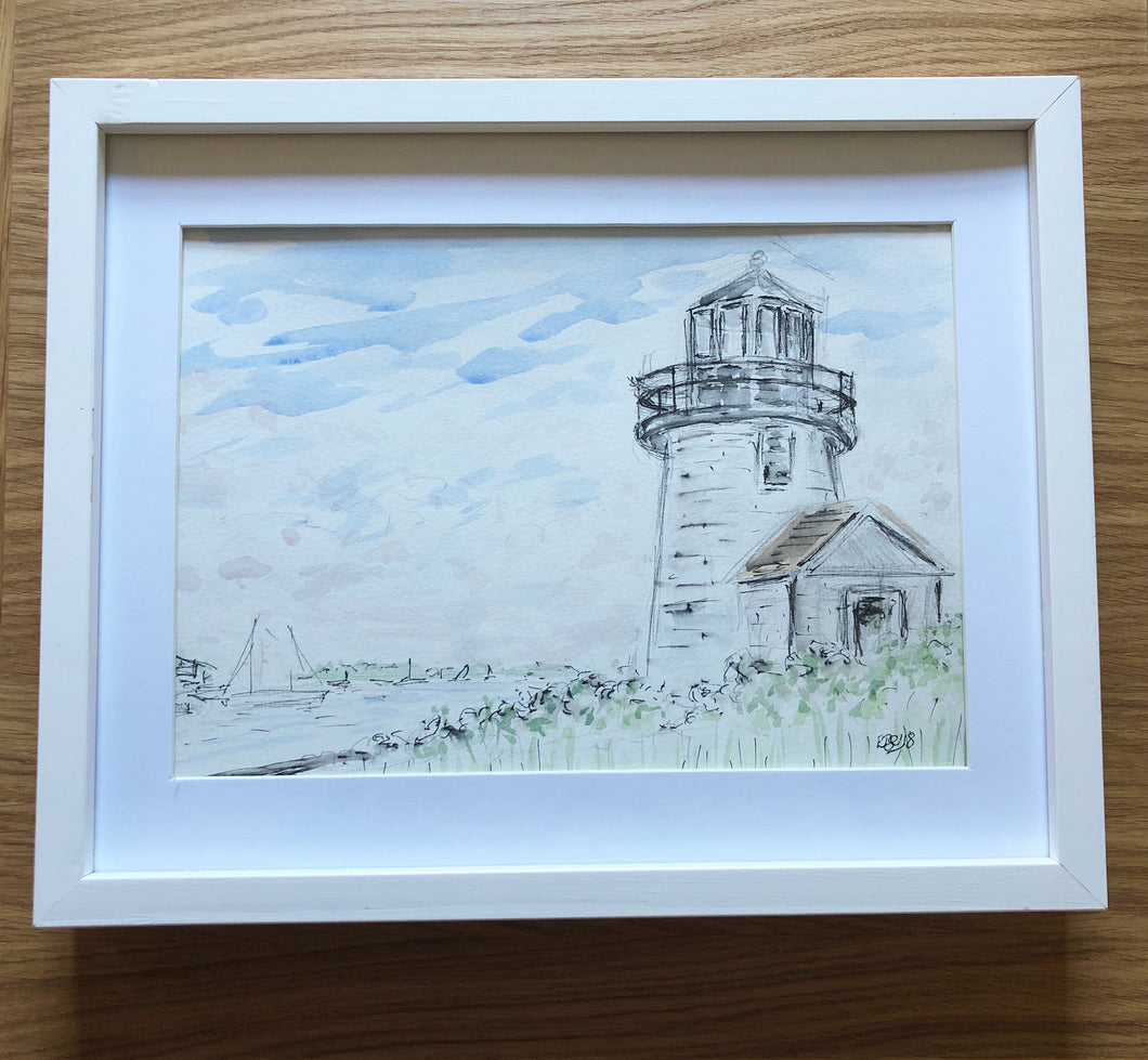 Hyannis Harbour Lighthouse, Cape Cod - SOLD