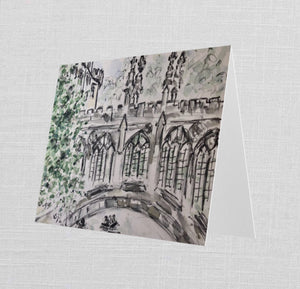 Bridge of Sighs Greetings Card