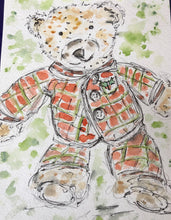 Load image into Gallery viewer, Teddy Bear Angus in Pyjamas