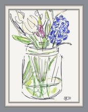 Load image into Gallery viewer, Spring Flowers in a jar