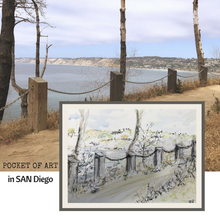 Load image into Gallery viewer, San Diego Coast, USA - 50% Sale