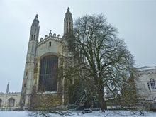 Load image into Gallery viewer, Kings College in the snow - SOLD