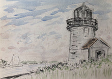 Load image into Gallery viewer, Hyannis Harbour Lighthouse, Cape Cod - SOLD