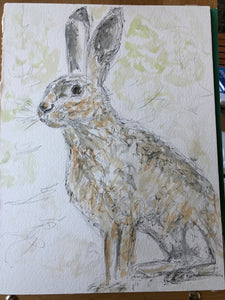 Hare in the wild - SOLD
