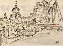 Load image into Gallery viewer, St Paul's view from the Bridge, London