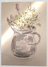 Load image into Gallery viewer, Lavenders in a Jug