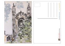 Load image into Gallery viewer, Kings College, Cambridge postcard