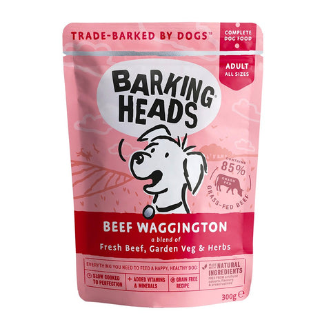 Barking Heads Wet Dog Food - Beef Waggington