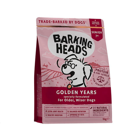 Barking Heads Dry Dog Food - Golden Years