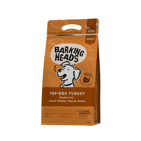 Barking Heads Dry Dog Food - Top Dog Turkey