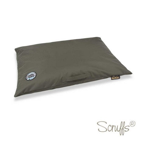 Scruffs Expedition Memory Foam Orthopaedic Dog Bed - Olive Green - L