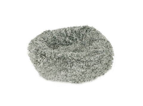 Danish Design Fluffies Cushion Cat Bed - Grey