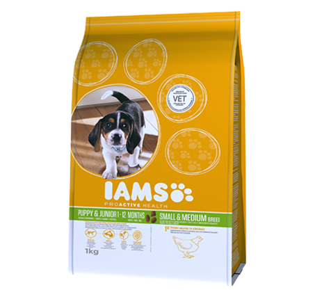 IAMS Proactive Health Puppy & Junior Small and Medium Breed