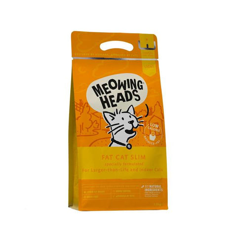 Meowing Heads Dry Cat Food - Fat Cat Slim - 1.5kg