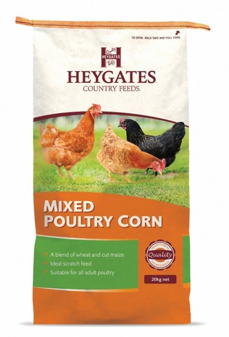 Heygates Mixed Poultry Corn - 20kg