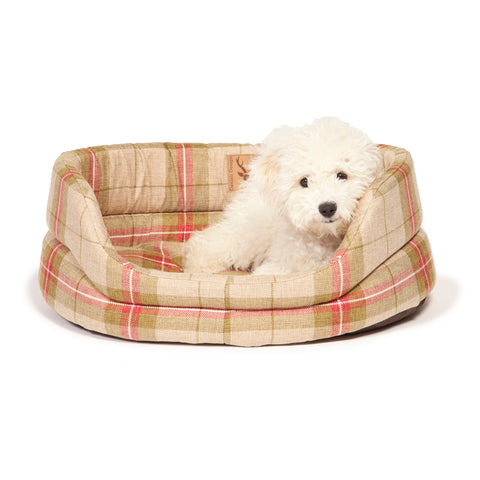 Danish Design Newton Slumber Dog Bed Moss Truffle