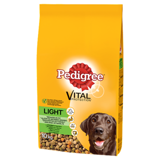 Pedigree Light Complete Dry Dog Food - Chicken & Vegetables - 10kg