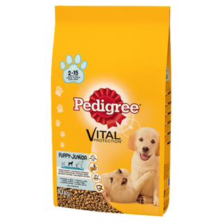 Pedigree Puppy Medium Dry Dog Food - Chicken & Rice - 10kg