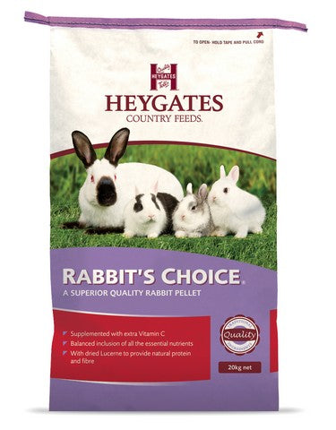 Heygates Rabbits Choice Pellets - 20kg