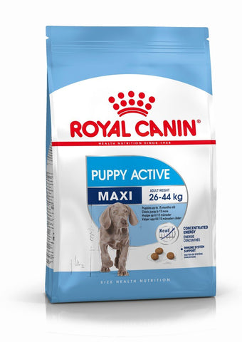 Royal Canin Maxi Puppy Active Dry Dog Food - 15kg