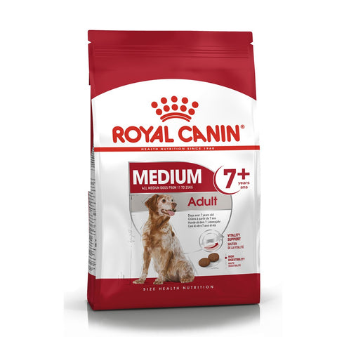 Royal Canin Medium Adult 7+ Dry Dog Food - 4kg