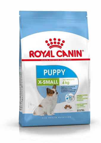 Royal Canin X-Small Puppy Dry Dog Food - 1.5kg